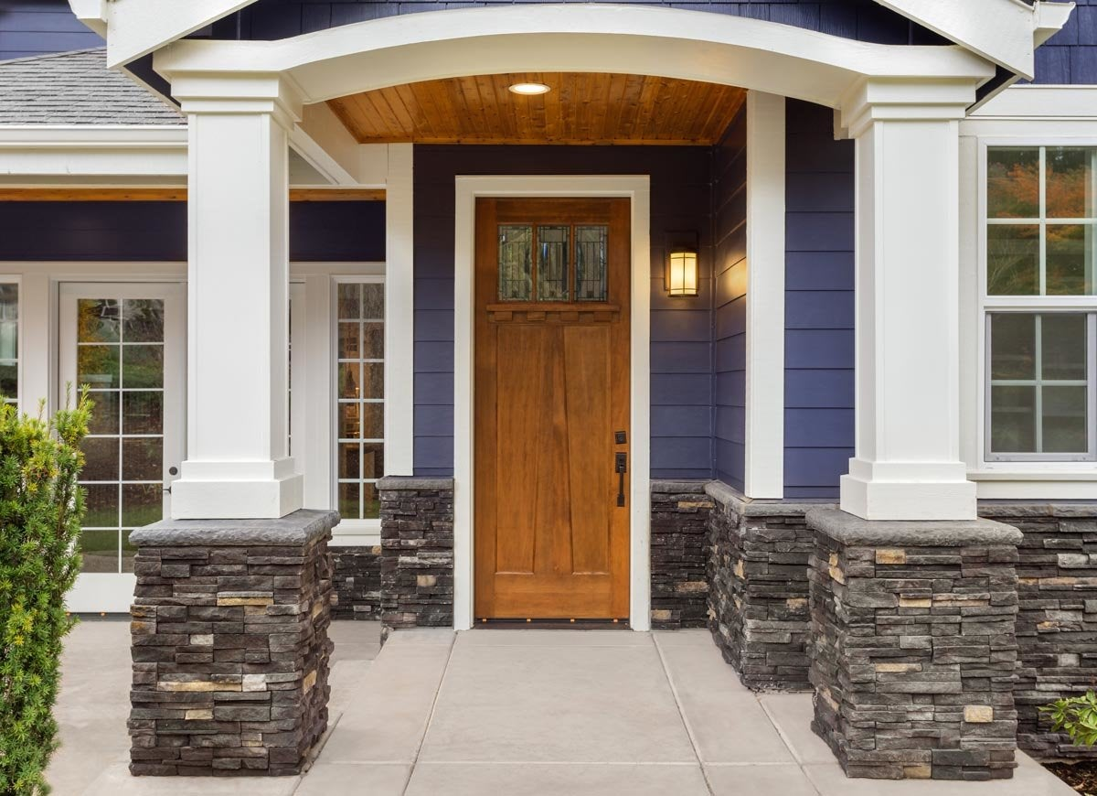 Curb appeal door