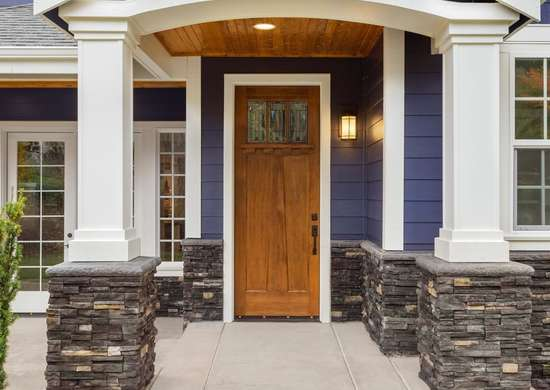 Front Door for Curb Appeal