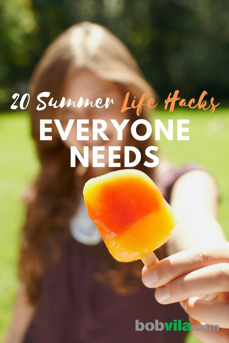 20 summer life hacks everyone needs