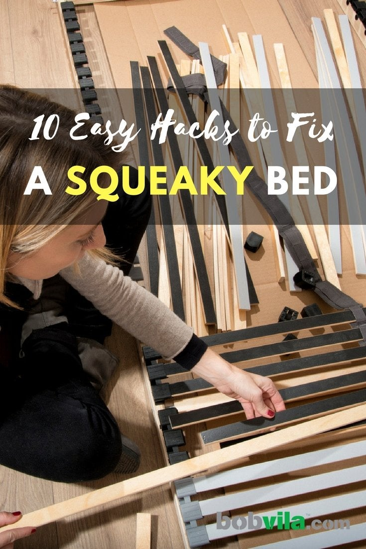 10 easy hacks to fix a squeaky bed