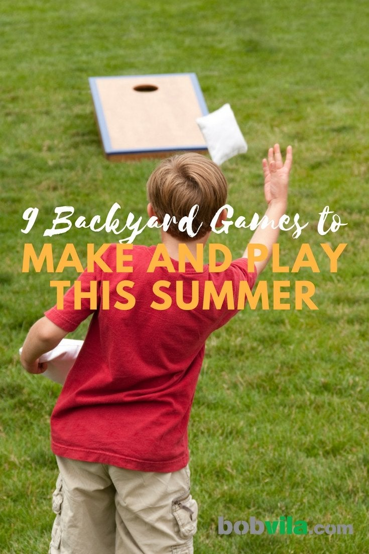 9 backyard games to make and play this summer
