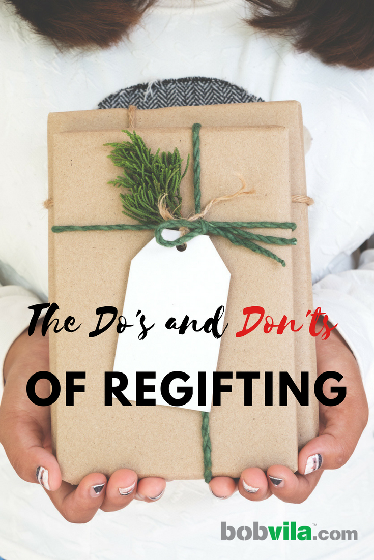 The dos and donts of regifting