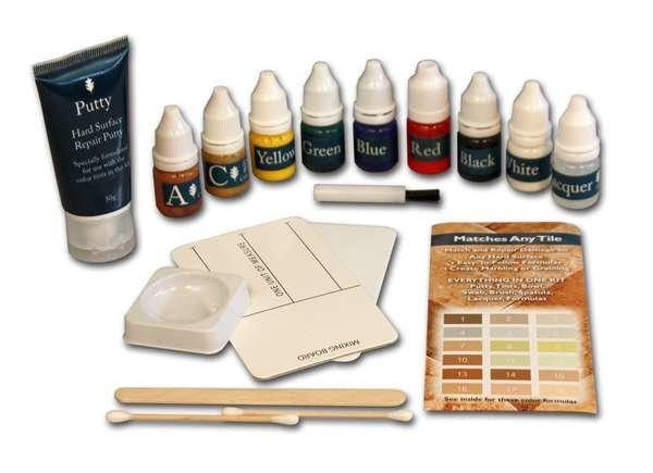 Stone repair kit