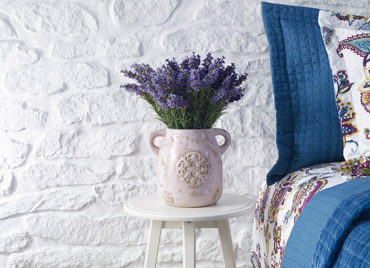 Lavender Plant Bedroom