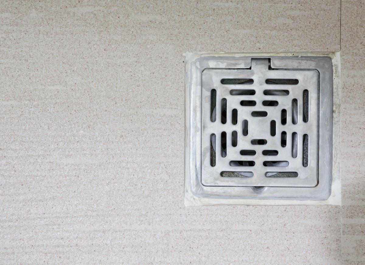 Basement floor drain