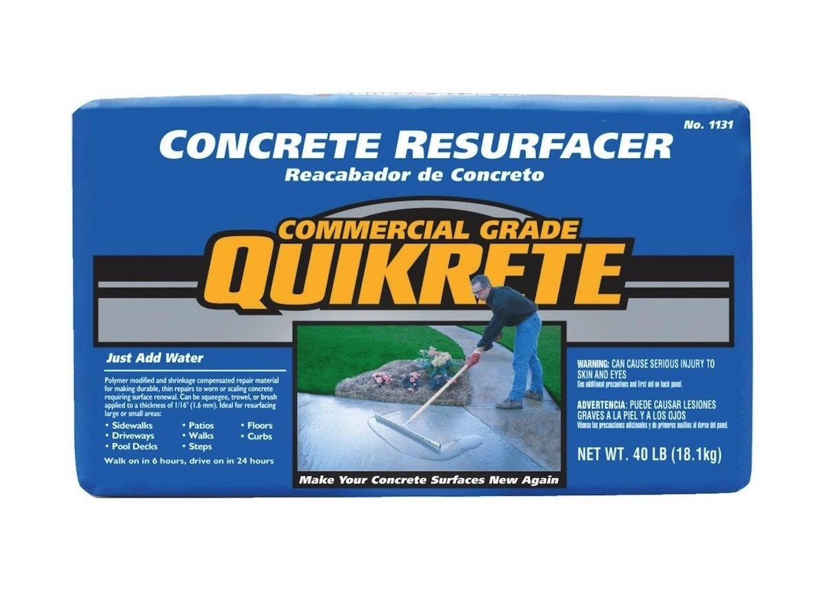 Concrete resurfacer 2