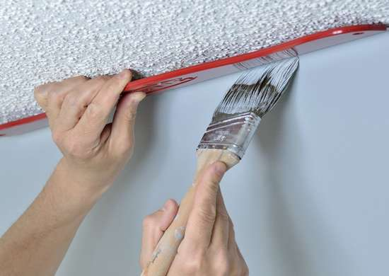 Keep Your Ceiling Mess-Free When Painting Walls