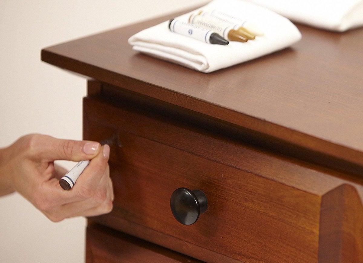 Furniture repair crayon