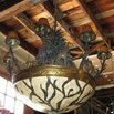 Adam and Eve Architectural Salvage Safari Chandelier