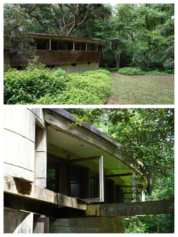 Frank lloyd wright spring house