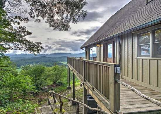 Blue Ridge Mountain Home