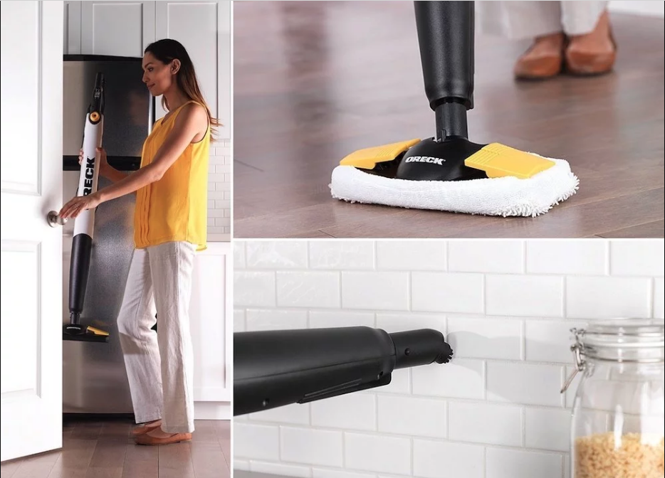Oreck steam it steam mop