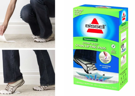 Stomp n' Go Stain Removal Pads