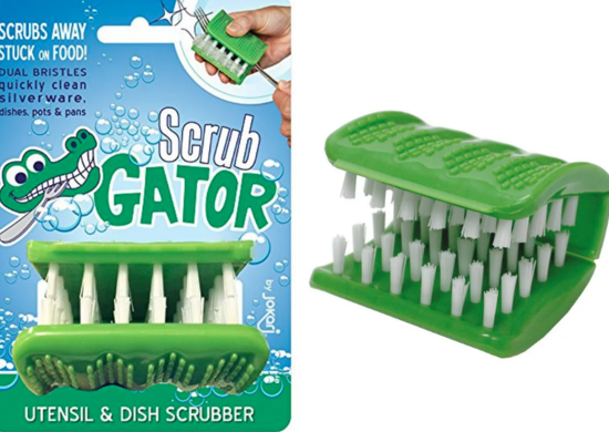 Scrub Gator Utensil and Dish Scrubber