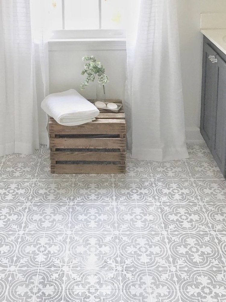 The Best Painted Tile Floors on the Internet - Bob Vila