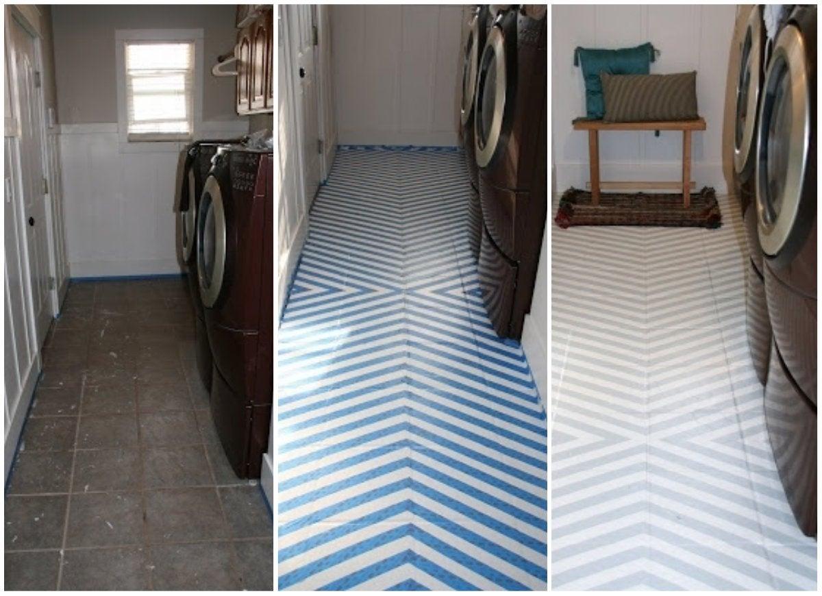 The Best Painted Tile Floors on the Internet - Bob Vila
