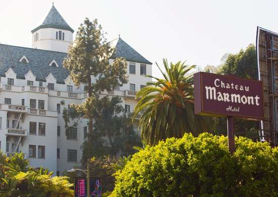 Chateau Marmont Hotel in Los Angeles, California