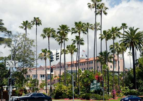 The Beverly Hills Hotel in Beverly Hills, California