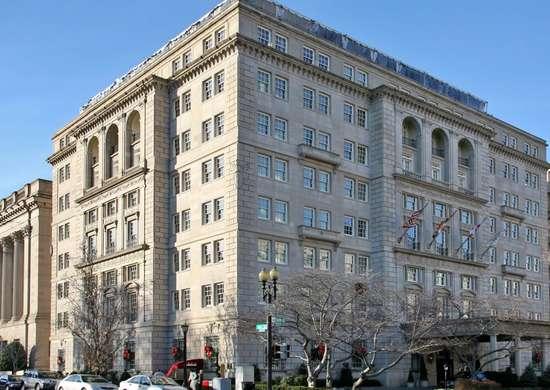 Hay-Adams Hotel in Washington, D.C.