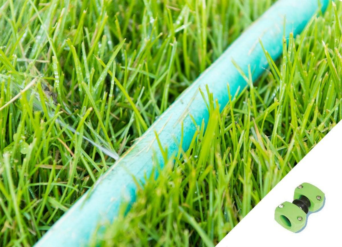 Garden hose mender