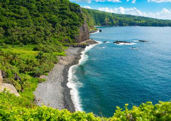 Maui Beachfront in Hawaii