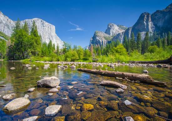 The Sierra Nevada in California