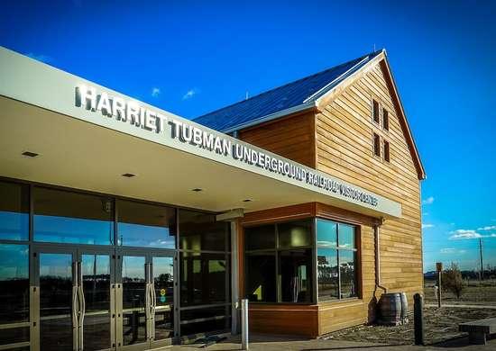 Harriet Tubman Underground Railroad National Monument in Maryland