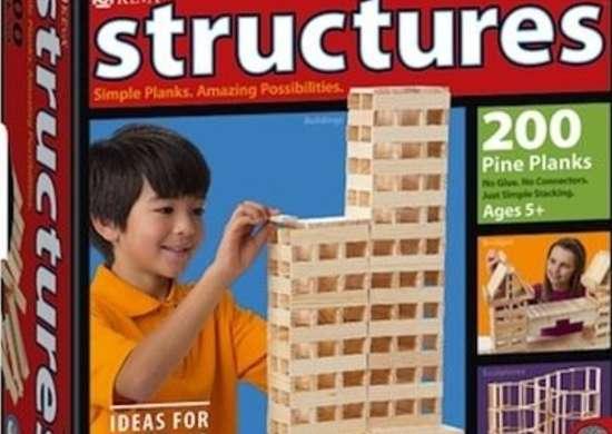 KEVA Structures