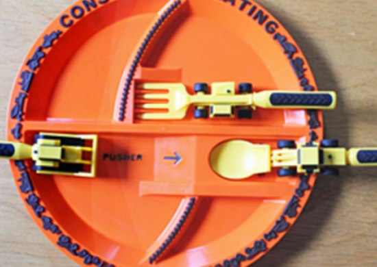 Construction Dinnerware