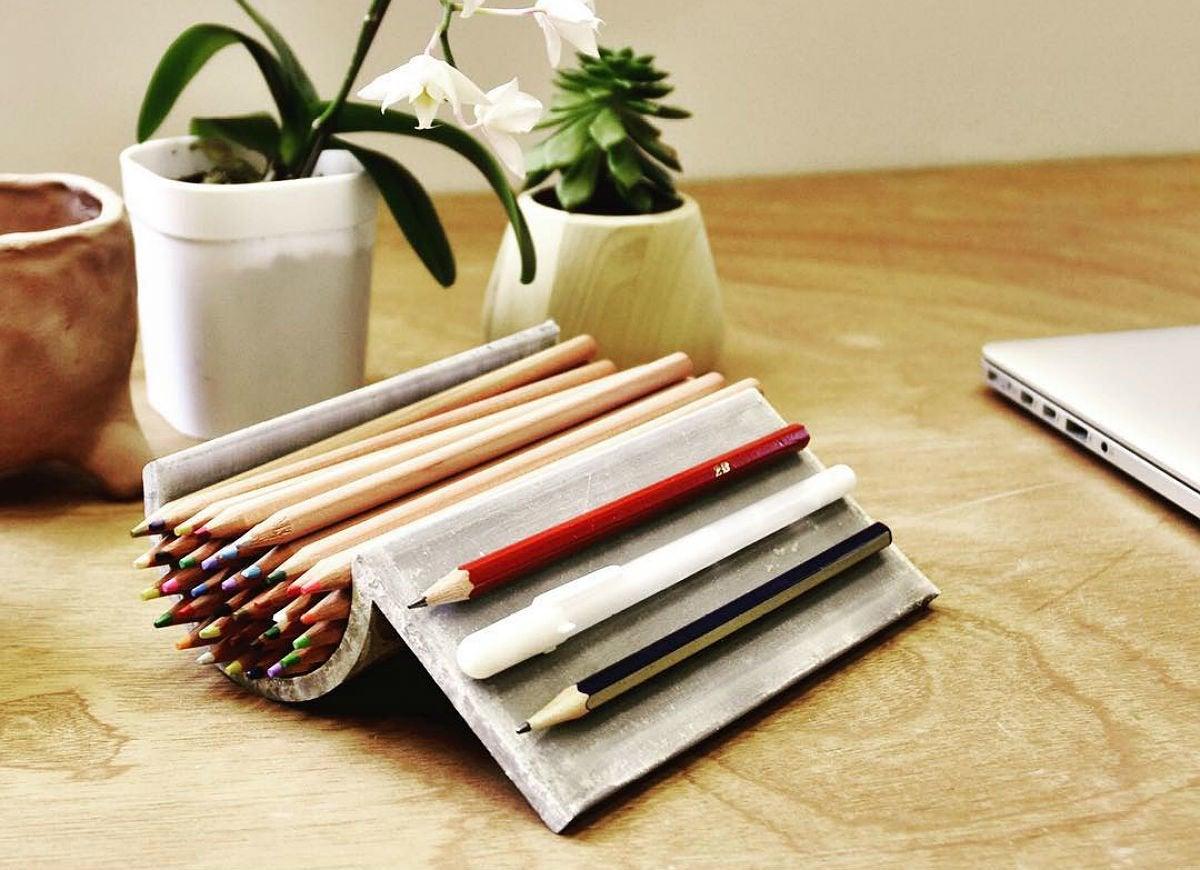 Quikrete onebagwonder pencilholder