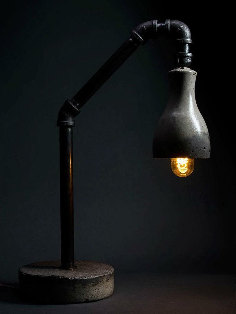 Quikrete onebagwonder pipelamp