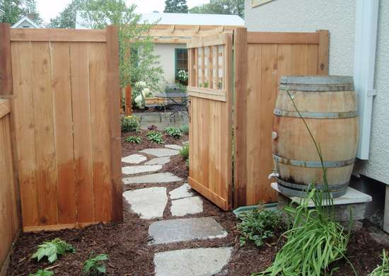 Install a Welcoming Entry Gate
