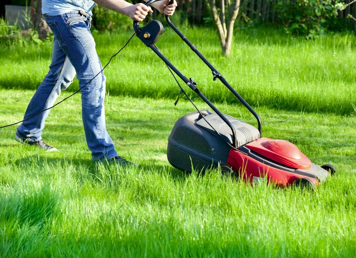 Electrical safety tips lawn mower