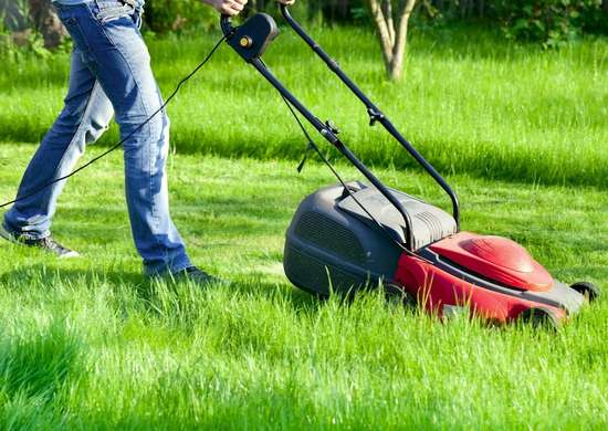 Electric Lawn Mower Safety