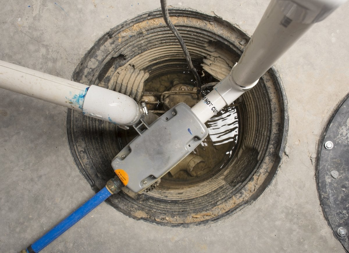 Electrical safety tips sump pump