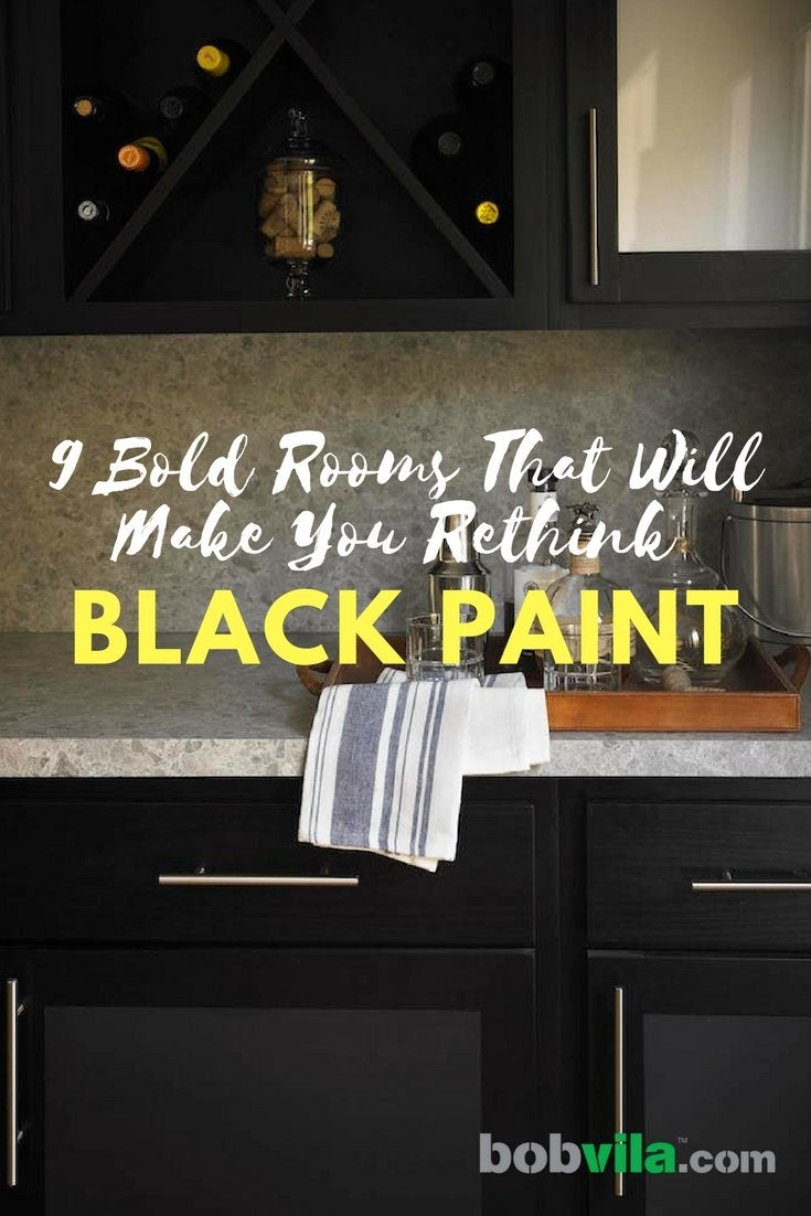 9 bold rooms that will make you rethink black paint