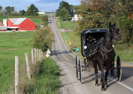 Amish Farm Country in Lancaster, Pennsylvania