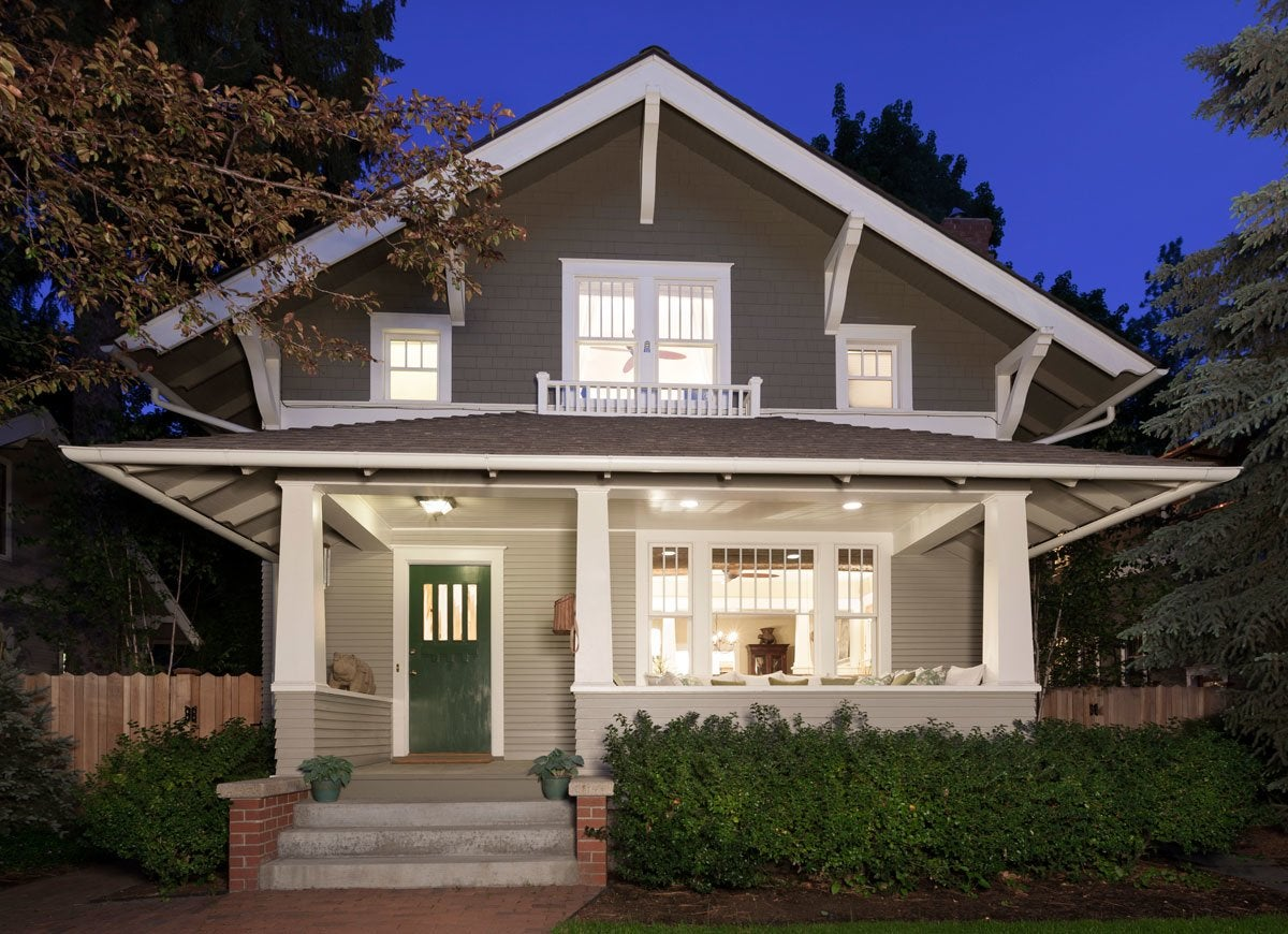House styles that americans love bob vila - What is a bungalow style home ...