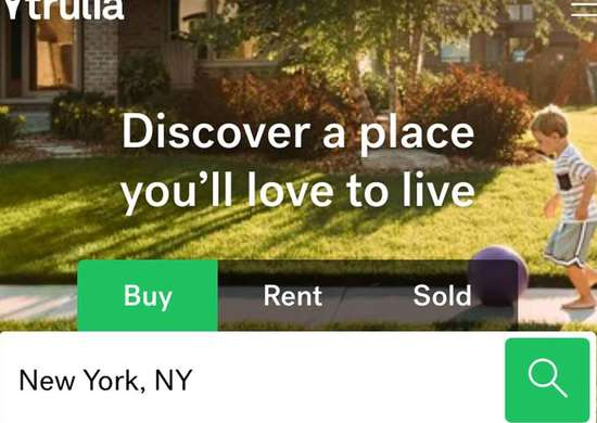 Best Real Estate Website —Trulia
