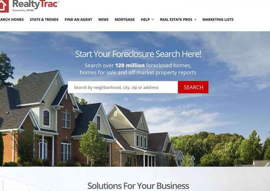 Best Real Estate Website —  RealtyTrac