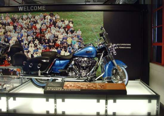 Harley-Davidson Vehicle Operations in York, Pennsylvania