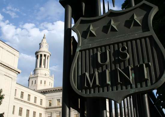 The United States Mint in Philadelphia and Denver