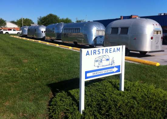 Airstream Factory Tour in Jackson Center, Ohio