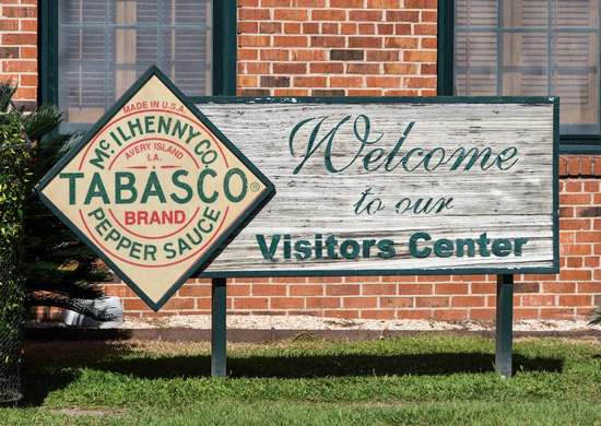 Tabasco Factory in Avery Island, Louisiana