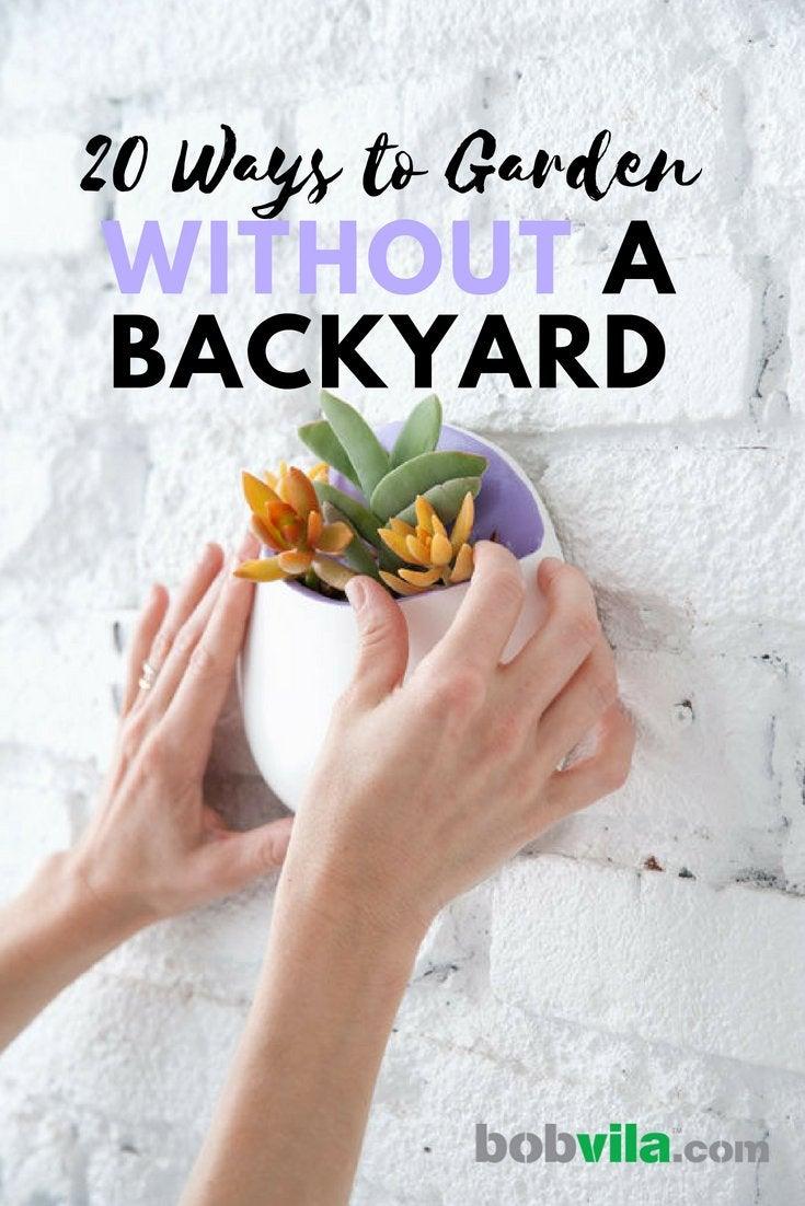 20 ways to garden without a backyard