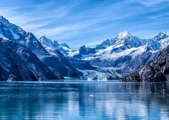 Bartlett Cove at Glacier Bay National Park in Alaska