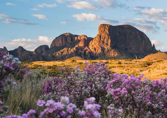 Chisos Basin Campground at Big Bend National Park in Texas