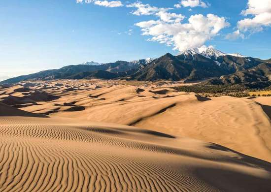 Piñon Flats Campground at Great Sand Dunes National Park and Preserve in Colorado