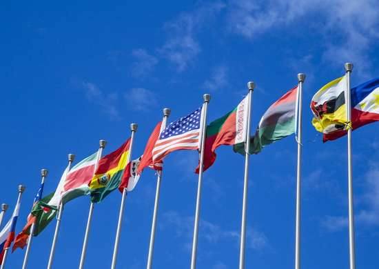 Displaying Multiple Flags