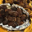 How to Make a Pine Cone Garland - Bake to Sterilize